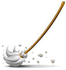 broom sweep floor