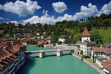 Bern von der Nydeggbrücke