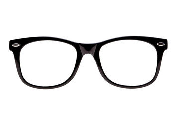 Photo black nerd spectacle frames, just add geek!