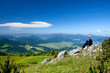 View at Mala Fatra in Slovakia