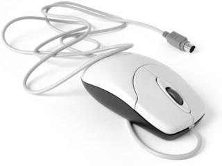 computer mouse closeup
