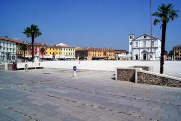 Piazza a Palmanova