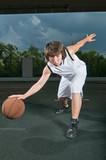 Basketball ballhandling skills poster