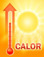 calor + humo