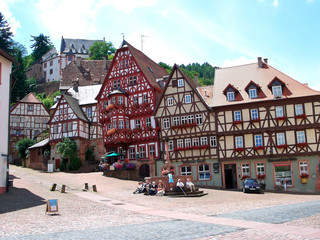 Market Square - Miltenberg, Germany