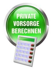button private vorsorge berechnen