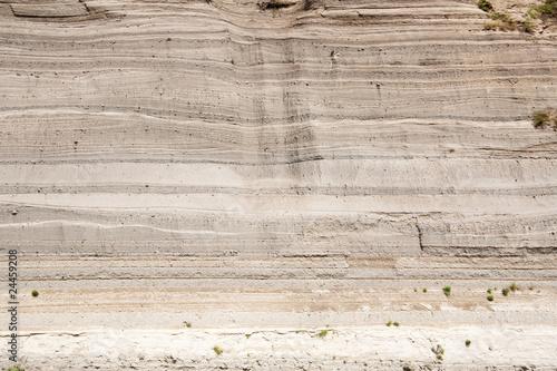 Leinwandbild Motiv Asche des Laacher-See-Ausbruchs