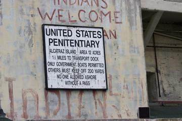 Alcatraz the island penitentiary in San Fraoancisco