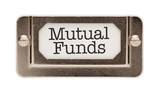 Mutual Funds File Drawer Label poster