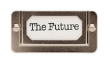 The Future File Drawer Label poster