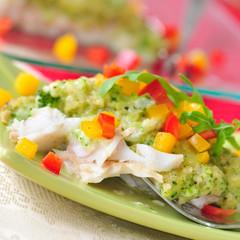Schlemmerfilet mit frischem Gemüse