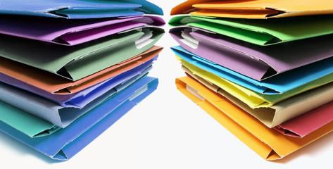 Stacks of Folders