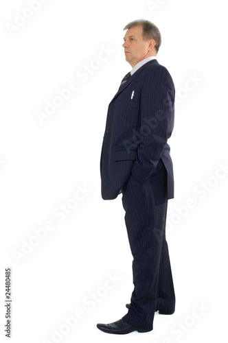 business man full-length