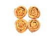 Quatre pains aux raisins