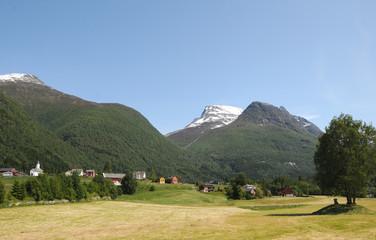 Village of Loen on Nordfjord