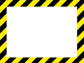 イラスト: 危険フレーム点