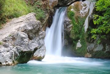 Cascata - Laghetto di San Benedetto - Subiaco - Roma - Italia
