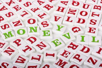 Money - evil