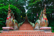Naga stairs of Wat Doi Suthep temple - 24492071