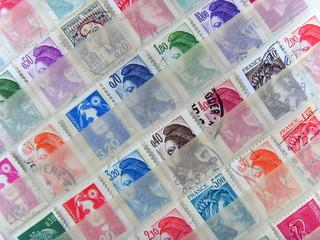 album de collection timbres français