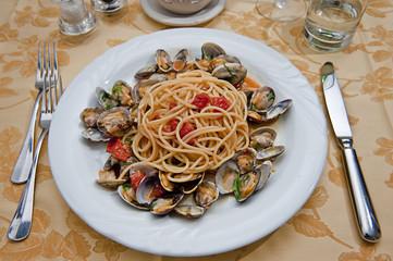 spaghetti con le vongole II
