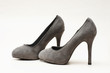 graue pumps high heels