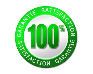 label vert garantie satisfaction
