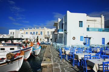 Paros, Naoussa am Hafen
