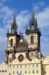 Týnský chrám (Chiesa di Santa Maria di Týn ) a Praga