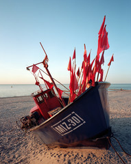 Fishing Boat, Baltic Sea in Poland