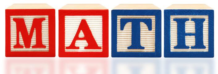 Alphabet Blocks Math