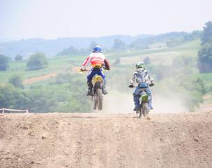 Motorcycle sport diving