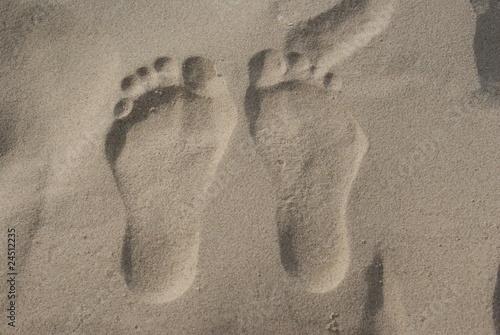 Fototapeten,kopf,füße,sand,strand