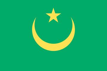 Drapeau-Mauritanie