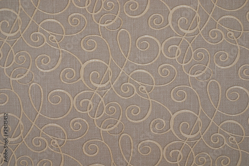 Paper with  floral pattern