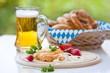 Bavarian cheese delicacy Obatzda