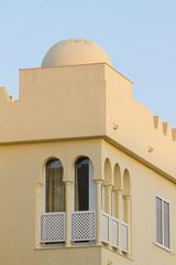 Arabian style artistic building in Spain