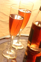 Red sparkling wine / Roter Sekt