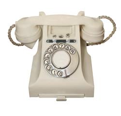 White Vintage Phone