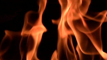 Flames close-up - HD