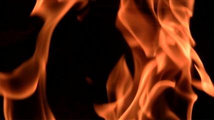 Flames slow motion - HD