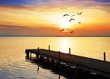 el sol y el mar