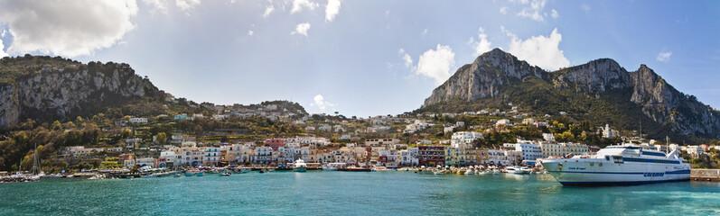 Costa de Capri (panorámica)