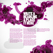 creative graphic elements - magazine layout
