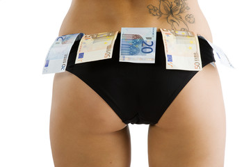 sexy ass and money