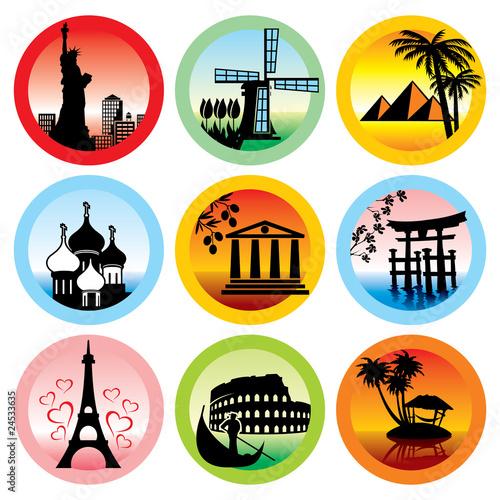 travel landmarks