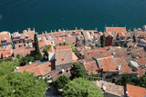 View over the Rooftops in Rovinj, Croatia poster