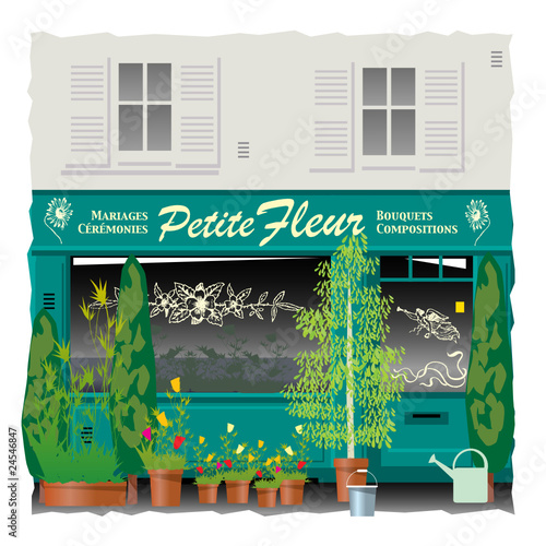 Fleuriste de quartier