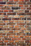 Fototapety red brown brick wall
