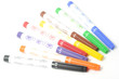 Multicolored felt pens